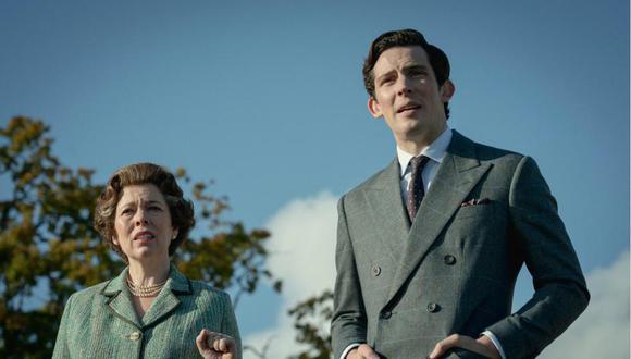 """The Crown"" se llevó el premio a Mejor serie dramática. (Foto: Netflix)"