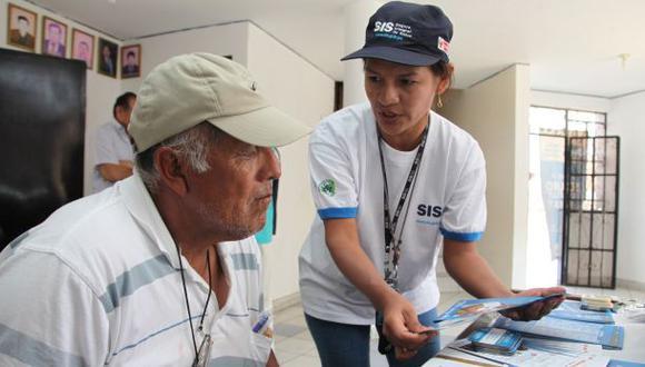 SIS transfirió más de S/234 millones para mejorar atención