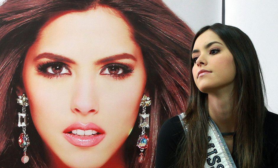 La colombiana Paulina Vega, Miss Universo 2015. (Foto archivo: EFE/Mauricio Dueñas Castañeda)