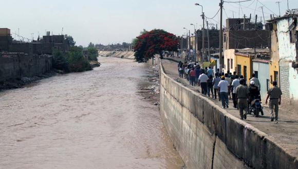 El caudal del río Ica ha aumentado peligrosamente. (Foto: Andina)