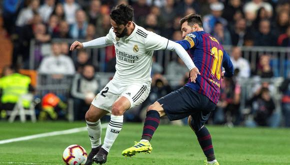 Real Madrid vs. Barcelona: mira las mejores imágenes del clásico español en el Santiago Bernabéu por LaLiga. (Foto: EFE)
