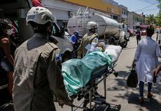 Brasil supera las 170.000 muertes y 6,1 millones de casos por coronavirus