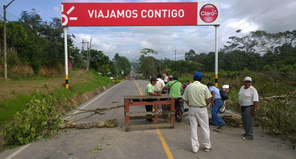Moyobamba acata paro regional de 48 horas - 2