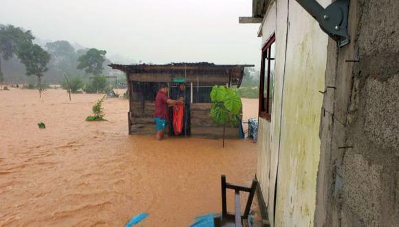 la intensa lluvia comenzó desde las 7:30 am y no paro a lo largo de unas tres horas. Un fenómeno similar, según el regidor, se presentó en el 2002, pero no en la magnitud de esta fecha (Foto: Carlos Fernández)