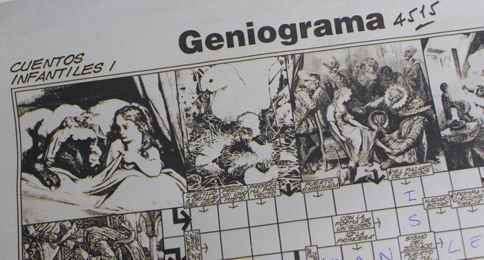 Geniograma. (Foto: El Comercio)