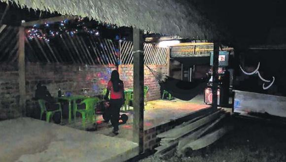 Las adolescentes trabajaban en este bar conocido como El 69 o Venezzia ubicado en un remoto caserío de Pangoa, Satipo. Ahí eran obligadas a prostituirse. (Foto: archivo)