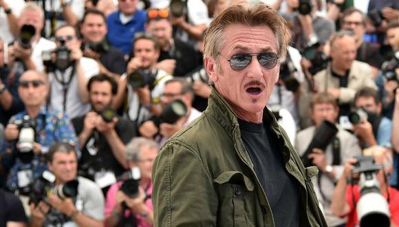 Pocos actores de su generación han logrado mantenerse con tal éxito en la pantalla grande como Sean Penn.  En la imagen, presentando 'The Last Face' en el festival de Cannes de 2016. Foto: AFP