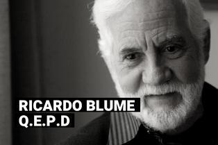Ricardo Blume, primer actor peruano, falleció a los 87 años en México