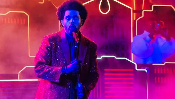 Resultado de imagen para Así fue el show de medio tiempo de The Weeknd en el Super Bowl LV