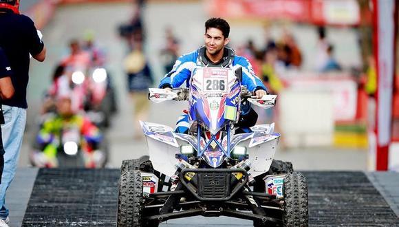 Christian Málaga superó una fractura y ahora entrena intensamente en su cuatrimoto para el Dakar 2019. (Foto: Facebook