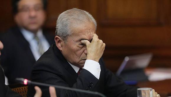 Pedro Chávarry enfrenta dos denuncias constitucionales ante el Parlamento. (Foto: GEC)