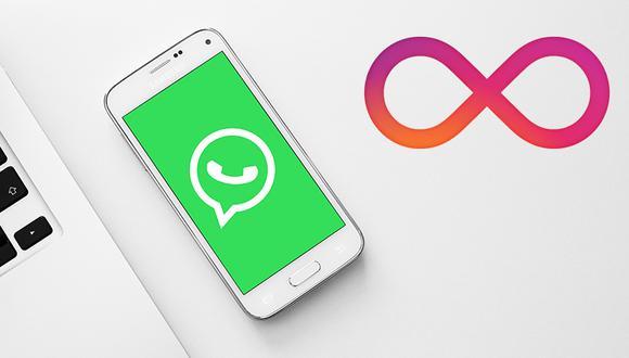 ¿Quieres el efecto boomerang de Instagram en tus Estados de WhatsApp? Así puedes activarlo en tu smartphone. (Foto: WhatsApp)