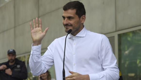 Iker Casillas sufrió un infarto el miércoles pasado y estuvo varios días en el hospital. (Foto: AFP)
