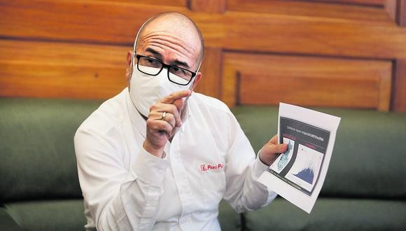 Víctor Zamora estuvo a cargo del Ministerio de Salud entre marzo y julio de 2020. (Foto: César Campos / GEC)