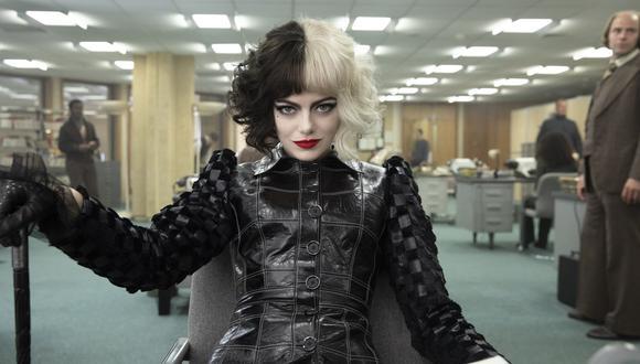 """Emma Stone alaba el trabajo de Glenn Close: """"Ella es genial y la mejor Cruella del cine"""". (Foto: Disney Plus)"""