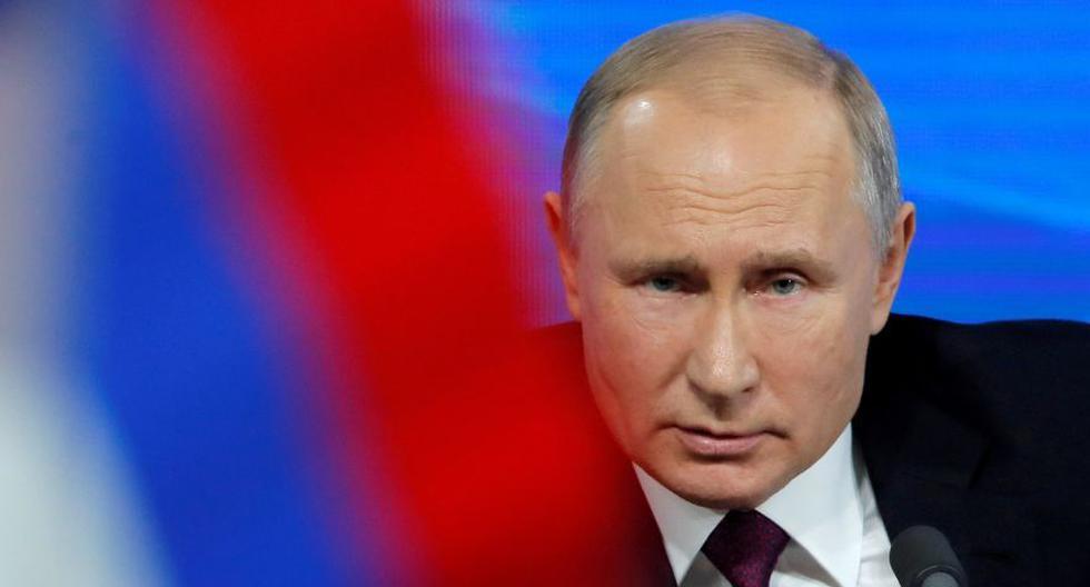 """El presidente de Rusia, Vladimir Putin, afirmó que una de sus hijas ya se había sometido a la vacuna contra el coronavirus COVID-19, que calificó de """"eficaz"""" y capaz de crear una """"inmunidad estable"""". (Foto: REUTERS / Maxim Shemetov)"""