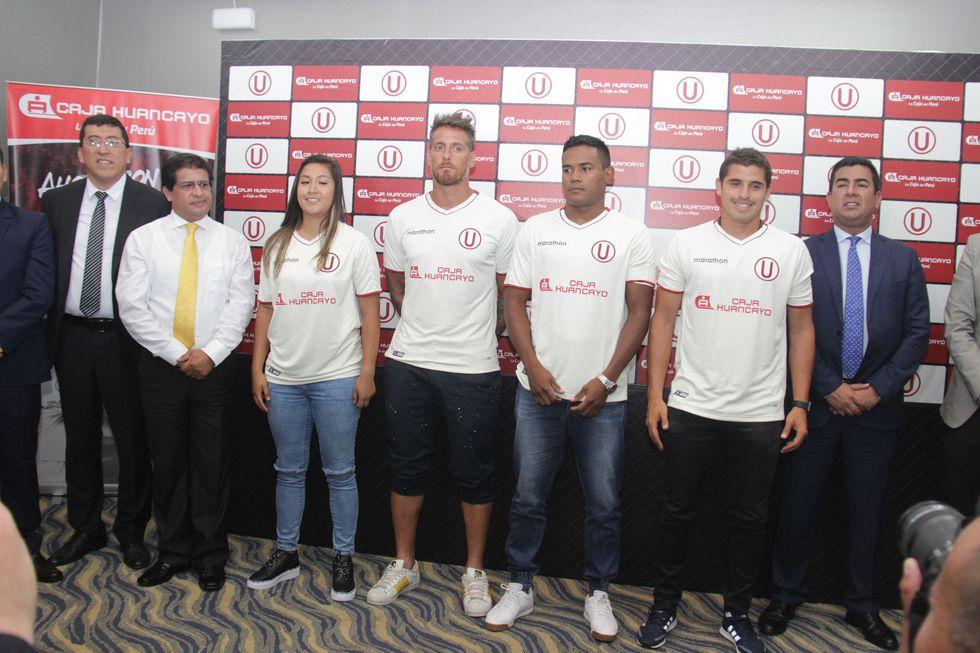 Universitario tendrá a Caja Huancayo como patrocinador principal. (Foto: Universitario).