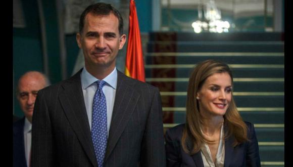 Los reyes de España tuvieron su primer acto oficial juntos