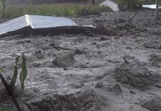 Abancay: caída de huaicos dejó dos viviendas inhabitables y otras cinco afectadas