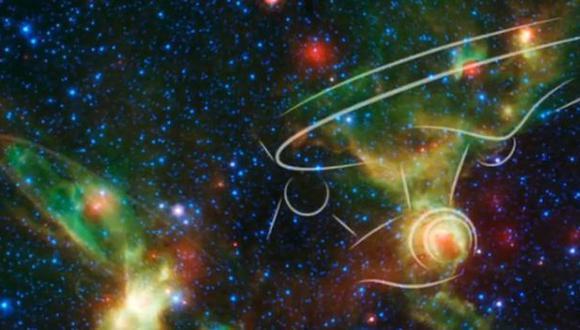 Mira lo que la NASA hizo por los 50 años de Star Trek [VIDEO]