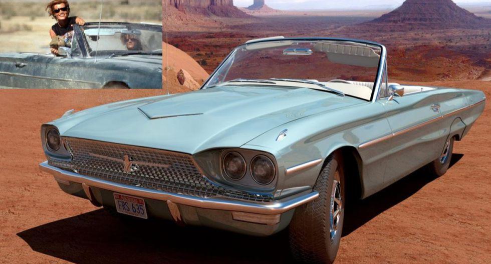 Thelma y Louise. Tras matar a un sujeto en defensa personal, Thelma y Louise inician una recordada huida de la policía a bordo de un Ford Thunderbird Convertible de 1966.