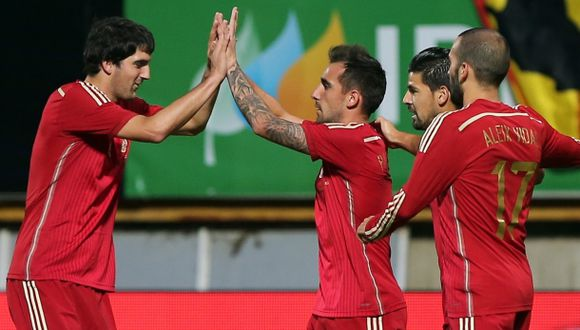España vs. Bielorrusia: chocan por Eliminatoria Eurocopa 2016