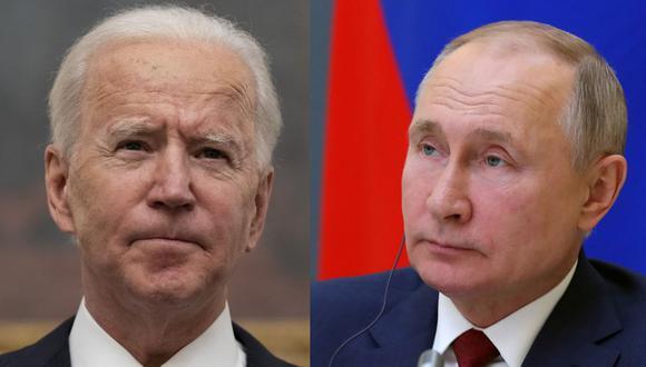 Esta semana, Joe Biden no anunció medidas concretas contra Rusia, pero lanzó varias advertencias al gobierno de Vladimir Putin. (Foto: AP/Reuters)