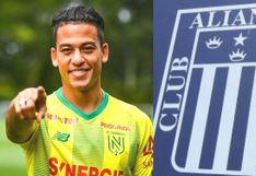 Cristian Benavente confesó que el primer equipo peruano que se le viene a la cabeza es Alianza Lima | VIDEO