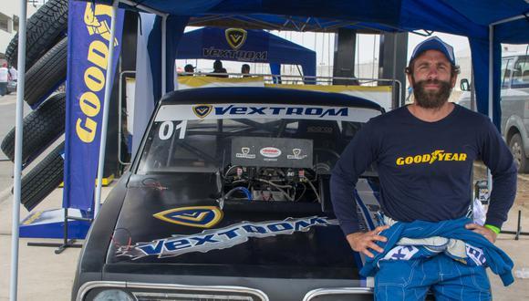 Juan Diego Gonzáles-Vigil logró imponerse en la categoría de 5 segundos. Logró el mejor tiempo de la fecha. (Fotos: Goodyear).