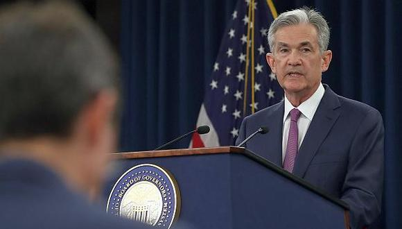 Jerome Powell, presidente de la FED (Foto: AFP)