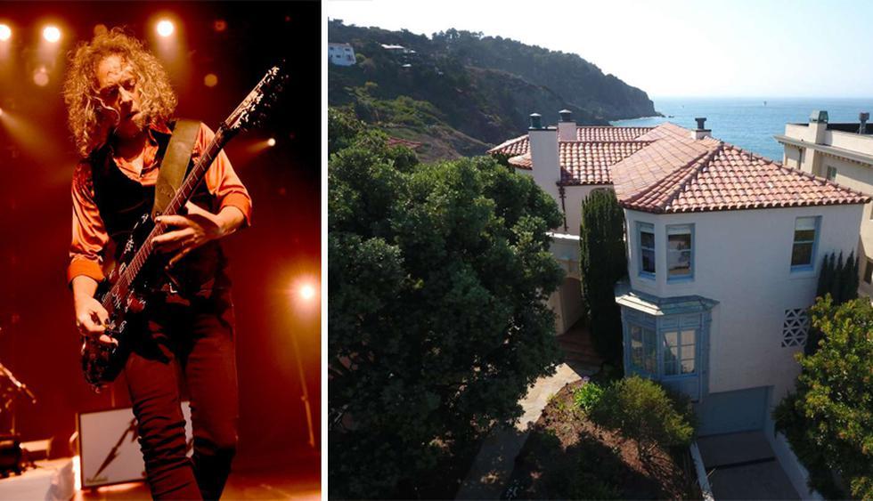 La mansión de Kirk Hammett se ubica  en un exclusivo enclave, en la bahía de San Francisco. Su precio es de US$ 11.9 millones. (Foto: Realtor)