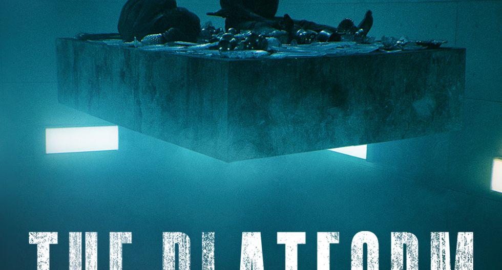 """Afiche de """"El hoyo"""" de Netflix."""