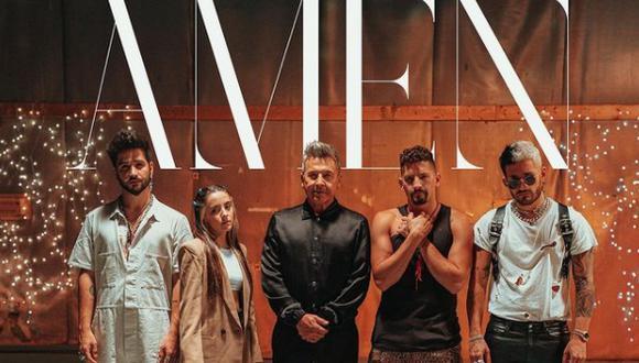 """Ricardo Montaner da vida a """"Amén"""" junto a integrantes de su familia. (Foto: @montaner)"""