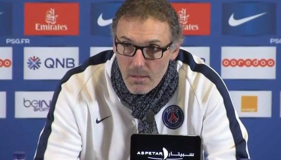 Técnico de PSG perdió paciencia tras preguntas sobre atentados