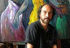 Pintor peruano Alfredo Alcalde denunció el robo de 15 obras en su taller de México