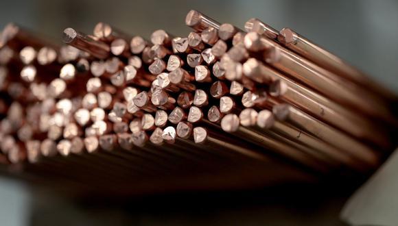 Los precios del metal llegaron más temprano a US$7.331. (Foto: AFP)
