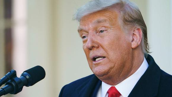 """Donald Trump pide a sus seguidores """"revertir"""" el resultado de las elecciones en Estados Unidos. (Foto: MANDEL NGAN / AFP)."""