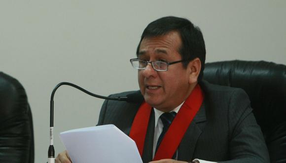 Marco Cerna habría accedido a colocar personal de confianza de Hinostroza en la Corte Superior de Lima Sur. (Foto: GEC)