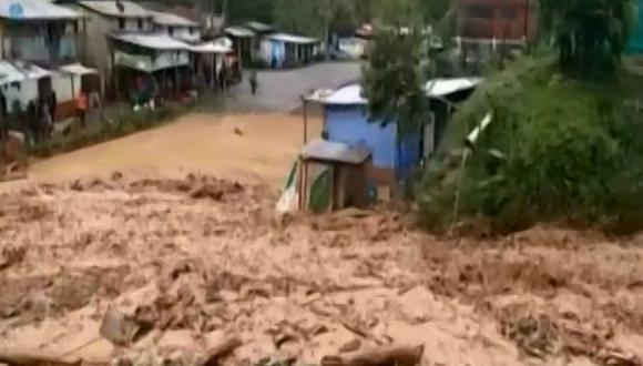 Ayacucho: huaico deja incomunicados a cinco comunidades en distrito de Sancos