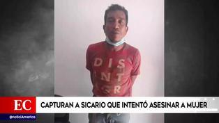 Ica: Capturan a sicario que intentó asesinar a mujer