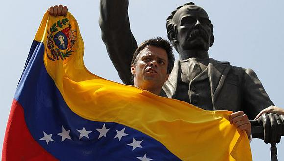Venezuela: Partido de Leopoldo López rechaza diálogo con Maduro