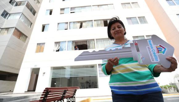 El Nuevo Crédito Mivivienda permite financiar la compra de cualquier vivienda en construcción o en proyecto.(Difusión)