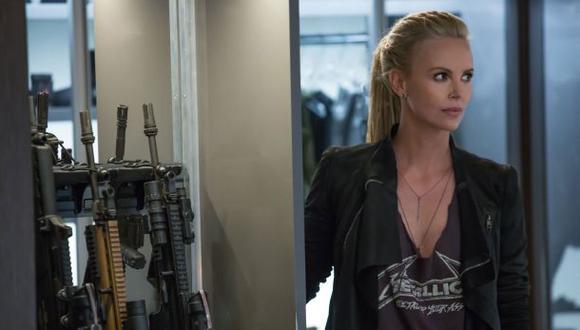 """Vin Diesel 'luce' a Charlize Theron en """"Rápidos y furiosos 8"""""""