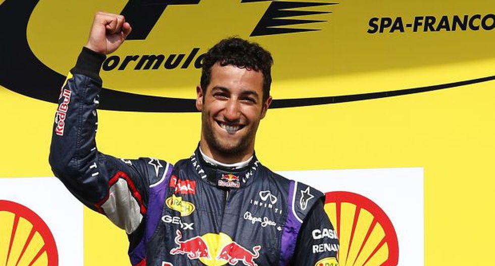 F1: Daniel Ricciardo ganó el Gran Premio de Bélgica