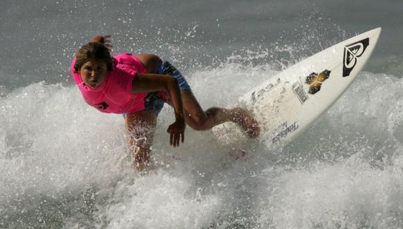 Sofía Mulanovich será una de las principales figuras en el Surf Web Series. (Foto: El Comercio)