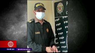Chachapoyas: Policía devuelve dinero y laptop que encontró en un taxi