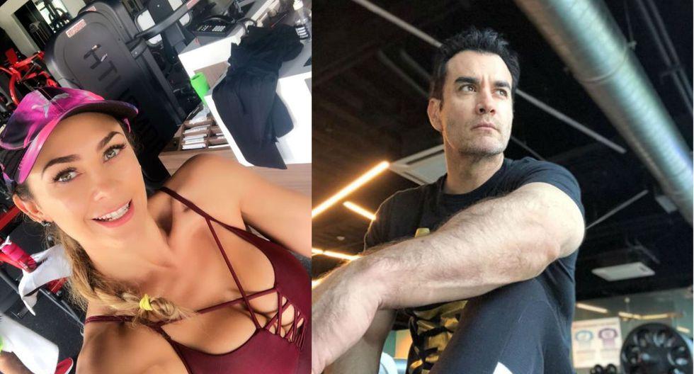 Los actores Aracely Arámbula y David Zepeda vivirían romance clandestino. (Foto: Instagram aracelyarambula/davidzepeda1)