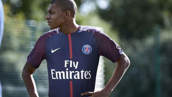En una entrevista con la cadena televisiva TF1, Kylian Mbappé habló sobre sus impresiones luego de haber sido anunciado como el último fichaje de los parisinos. (Foto: PSG)