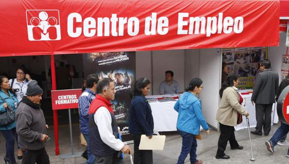 La tasa de desempleo de Lima Metropolitana subió a 14.5% en el referido periodo de análisis, según INEI. (Foto: GEC)