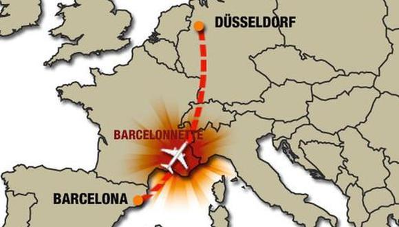 MINUTO A MINUTO: Avión de Germanwings se estrelló en Francia
